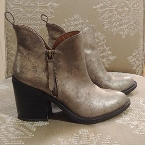 Groove   Funky Bronze Simmer Boots